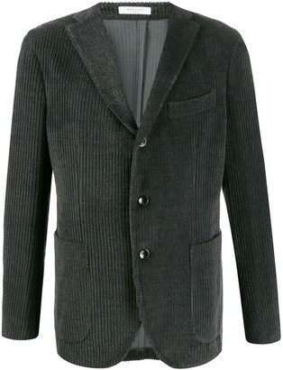 Boglioli corduroy single breasted blazer