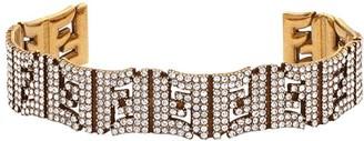 Fendi FF logo bracelet