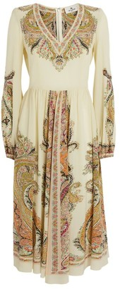Etro Ardennes Silk Mini Dress