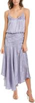A.L.C. Willa Silk Midi Dress