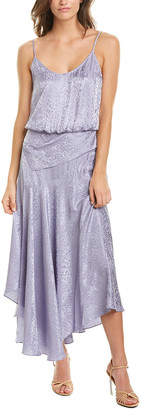 A.L.C. Willa Silk Midi Dress