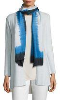 Eileen Fisher Silk Patterned Scarf