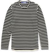 Junya Watanabe - Slim-fit Striped Cotton-blend T-shirt