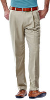 Haggar Cool 18 No-Iron Pleated Pants - Big & Tall