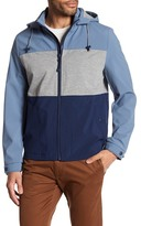 Kenneth Cole New York Hooded Colorblock Jacket