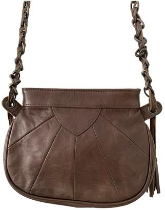 Comptoir des Cotonniers Brown Leather Handbags
