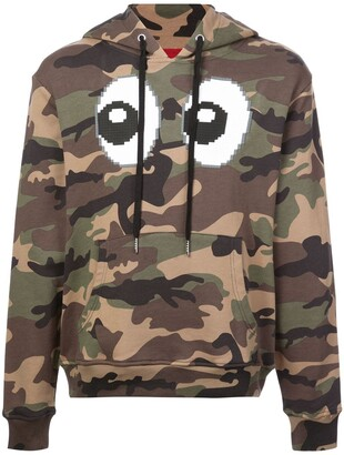 Mostly Heard Rarely Seen 8-Bit camouflage eyez hoodie