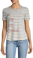 Sol Angeles Women's Stripe Graphic Tee