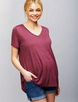 7 For Mankind Secret Fit Belly 5 Pocket Maternity Shorts