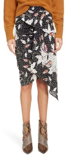 4d25f91fe6 Isabel Marant Silk Skirt - ShopStyle