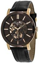 Kenneth Cole Classic KC1933 Men's Round Brown Leather Watch