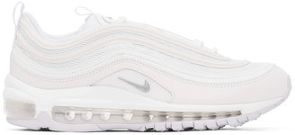 Nike White Air Max 97 Sneakers