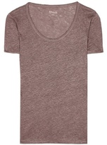 81 Hours 81hours Perry linen T-shirt