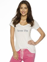 Peace Love World Love Life V-Neck Tee