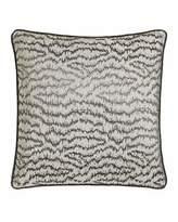 "Sferra Dante 18""Sq. Ikat Wave Pillow"