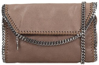 Stella McCartney Falabella Shoulder Bag In Brown Faux Leather