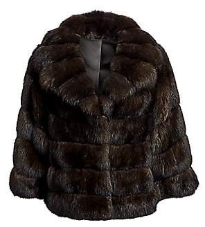 The Fur Salon Women's Chrispeto Sable Fur Jacket