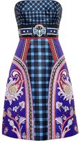 Mary Katrantzou 'Kelly' bustier dress