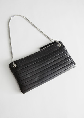 And other stories Chain Strap Leather Shoulder Bag