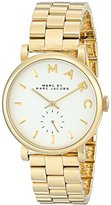 Marc by Marc Jacobs Women's MBM3243 Baker Gold-Tone Watch with Link Bracelet