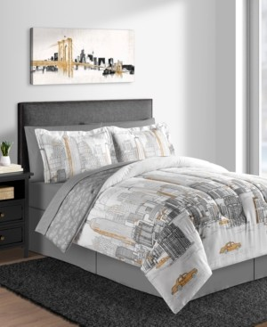 Fairfield Square Collection New York 8-Pc. California King Comforter Set Bedding