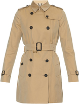 Burberry Kensington mid-length gabardine trench coat