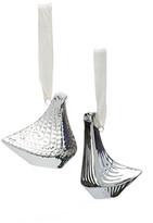 Jonathan Adler Platinum Love Doves Ornament Set