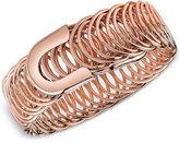 2028 Rose Gold-Tone Belt-Look Multi-Link Bracelet