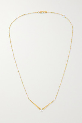 Melissa Kaye Aria V 18-karat Gold Diamond Necklace - one size