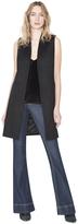 Alice + Olivia Black Flynn Vest