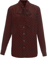 Equipment X Kate Moss Slim Signature silk blouse