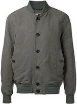 Cerruti bomber jacket - men - Linen/Flax/Lyocell - 46