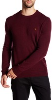 Farah Rosecroft Knit Wool Sweater