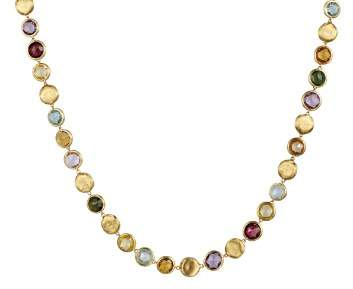 """Marco Bicego Jaipur Multicolored Necklace, 18"""""""