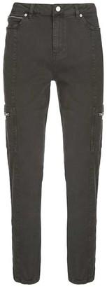 Mint Velvet Houston Khaki Slim Cargo Jeans
