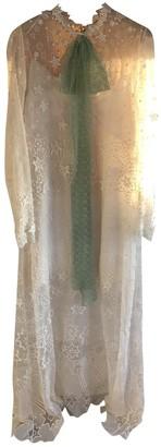 Chloé Ecru Lace Dresses