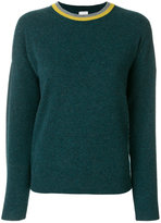 Paul Smith contrast neckline knitted sweater