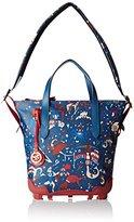 Piero Guidi Be Magic, Women's Top-Handle Bag, Blu (Blu Oltremare), 29x31x13 cm (W x H L)