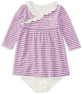 Ralph Lauren Infant Girls' Striped Velour Dress & Bloomer Set - Sizes 3-12 Months
