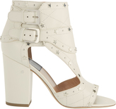 Laurence Dacade Rush Silver Stars Buckled Sandals