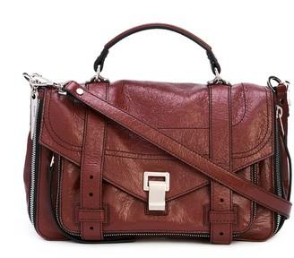 Proenza Schouler Paper Leather Zip PS1+ Medium