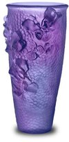 Daum Jardin Imaginaire Purple/Blue Tall Vase