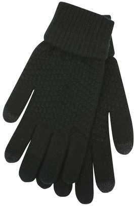 M&Co Touch screen knitted gloves