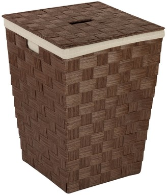 Honey-Can-Do Woven Brown Hamper