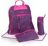 Okiedog Mondrian Trek diaper bag & backpack