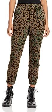 Pam & Gela Jaguar Print Cargo Pants