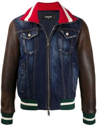 DSQUARED2 Panelled Denim Jacket