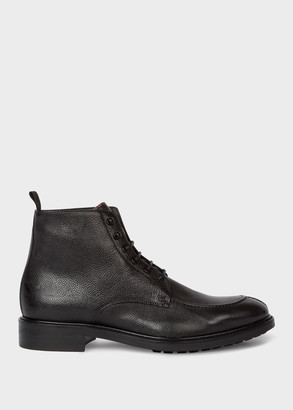 Women's Black Leather 'Trent' Boots