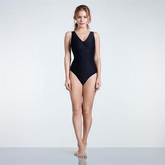 USA Pro Pro Zip Front Swimsuit