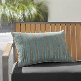 Crate & Barrel Boomerang Outdoor Lumbar Pillow